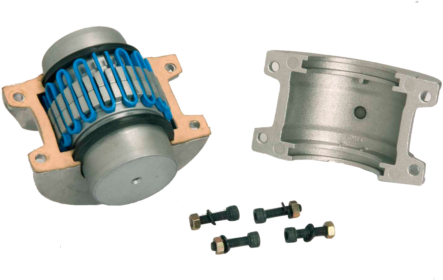 Resilient Grid Gear Couplings